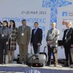 Журнал «Кровли» принял участие в работе 17 Международной выставки «Стройкомплекс регионов России – 2011»