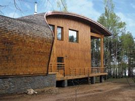 Дом-скат архитектора Тотана Кузембаева