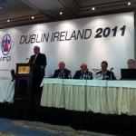 Международная встреча кровельщиков в Дублине