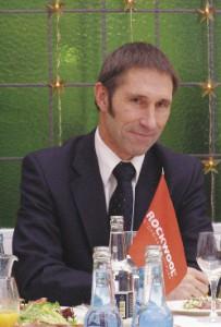 Ник Винс на встрече с журналистами 4 декабря 2009 г.