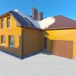 Новый энергоэффективный дом Natural Balance от ROCKWOOL потребляет на 78.5% энергии меньше нормативного