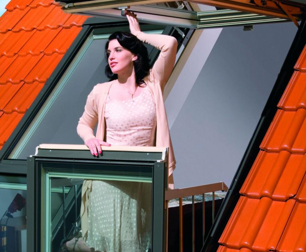 Окно-балкон: удивительное решение дом мечты.