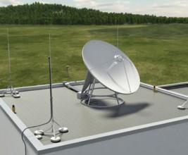 Молниезащита телевизионных и спутниковых антенн