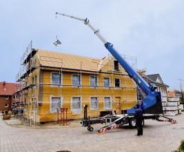 Курский опыт внедрения европейской практики механизации труда на строительной площадке