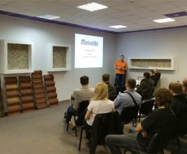 Открытие нового учебного центра Metrotile в Новосибирске
