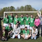 Футбольный турнир в День кровельщика: подрядчики побеждают!