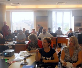 Учебный центр НКС провёл лекцию о контроле качества кровельных работ для сотрудников Фонда капитального ремонта