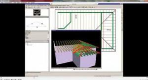 Рис. 14. Пример рабочего пространства модуля Layout про- граммы MiTek 2020