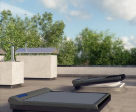 FAKRO предлагает маркизы для окон для плоских крыш
