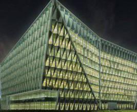 Медиацентр НТВ возведут в виде кристалла-многогранника