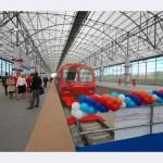 Модульные панели RODECA в аэропорту Шереметьево