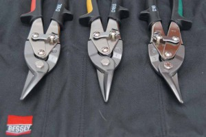 Набор EADI-Bessey, состоящий из левых, правых и прямых ножниц