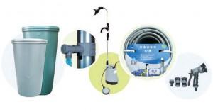 Элементы системы рекуперации дождевой воды