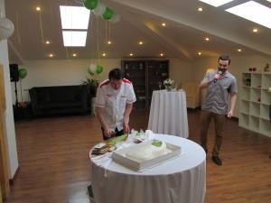 Украшение торта...