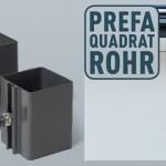 Квадратная водосточная система PREFA