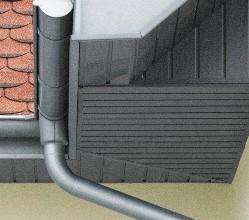 «Слабые места» водосточных систем