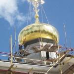 Золочение куполов: возрождение кровельных традиций
