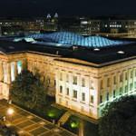 Реконструкция с модернизацией: уникальная стеклянная крыша накрыла двор исторического здания