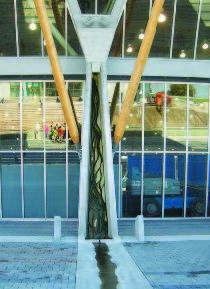 Фрагмент системы водоотвода