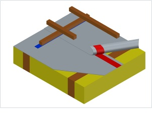 Класс 3. Диффузионная мембрана с проклейкой нахлёстов и уплотнением отверстий (2.1)