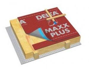 Диффузионная мембрана с интегрированной самоклеящейся лентой и уплотнением отверстий под контробрешёткой