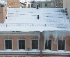 Проблемы эксплуатации крыш жилого фонда в зимний период