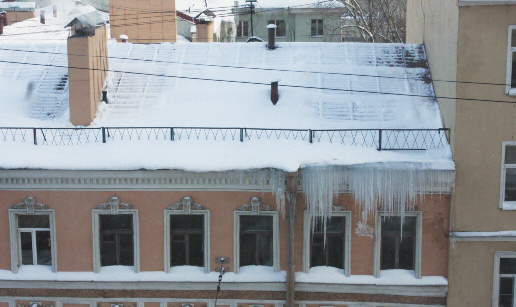 Кто уберет снег на крыше