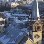 Воссоздание шпиля лютеранского собора в Москве