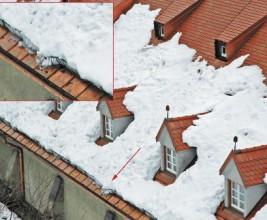 Расчет систем снегозадержания