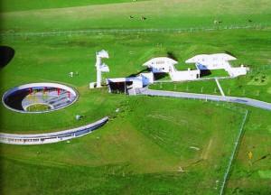 Радиотрансляционная станция, Австрия, арх. Г. Пехль, 1976-1979 гг.