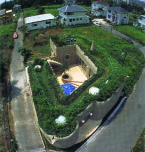 Жилой дом, Япония, арх. Ushida-Findlay Partnership, 1994 г.