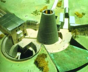 Европейский центр изучения вулканизма, Франция, арх. Х. Холяйн, 1994-2001 гг.