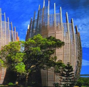 Центр культуры, Новая Каледония, арх. Р. Пьяно, 1992-1998 гг.