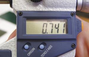 Электронный микрометр