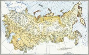 Карта ветровых районов была разработана еще в СССР