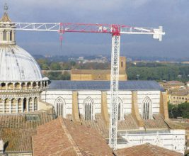 Реставрация свинцовой кровли кафедрального собора Сиены