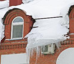 Температурно-влажностный режим и сосульки