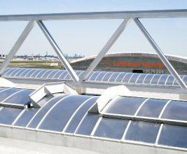 Зенитные фонари в системе энергоэффективности здания