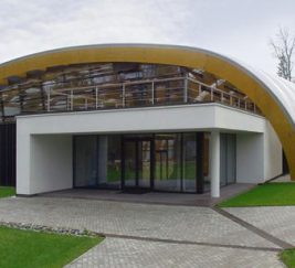 Спортивный комплекс в Подмосковье с крышей из ЭТФЭ