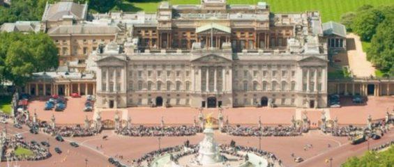 Солнечные панели на Букингемском дворце