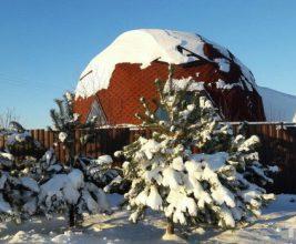 Купол под Минском. Как устроен один из самых необычных домов в Беларуси?