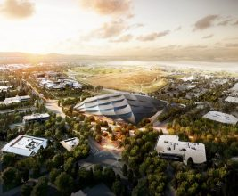 Крыша новой штаб-квартиры Google: какой она будет?