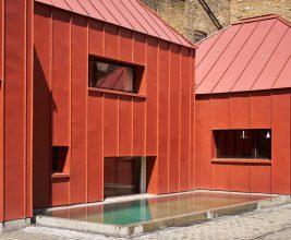Лондонский «фальцевый» дом: Tin House