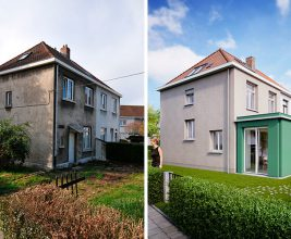 Реновация социального жилья в Бельгии: концепция RenovActive от VELUX