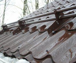 Компания «Уникма» испытала снегозадержатели на прочность!