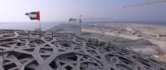 Под сенью «финиковой пальмы»: крыша филиала Лувра в Абу-Даби