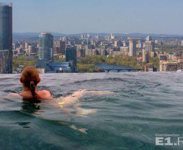 В Екатеринбурге на крыше небоскреба сделают… бассейн!