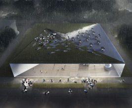 Стеклянный фасад и зеленая кровля: на ВДНХ построят павильон атомной энергии