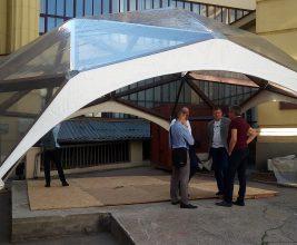 Симпозиум по дизайну и практическому применению мембранных конструкций «Текстильные Крыши» — впервые в России!