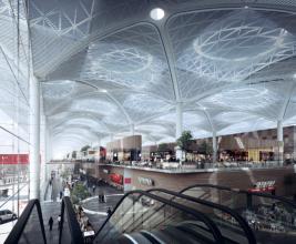 Новый аэропорт Стамбула: крыша, поражающая воображение